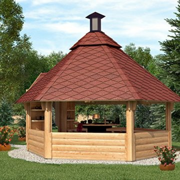 Grillkota Pavillon inkl. Grillanlage ca. 9m²