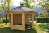 JUNIT Garten- Pavillon GAZEBO